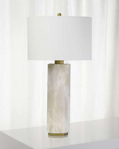 Gear Alabaster Table Lamp