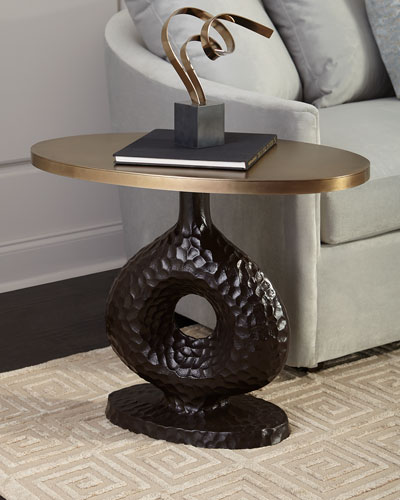 Seth Textured Side Table