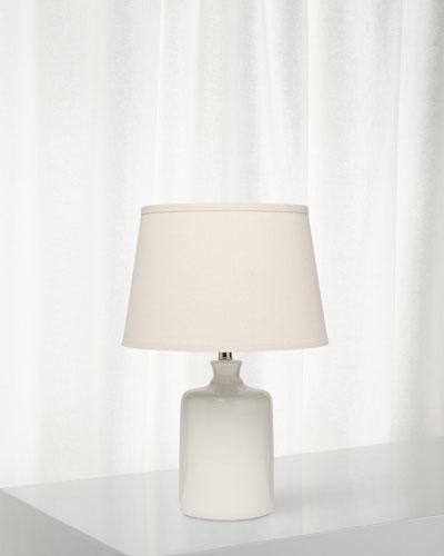 Milk Jug Table Lamp, Winter White