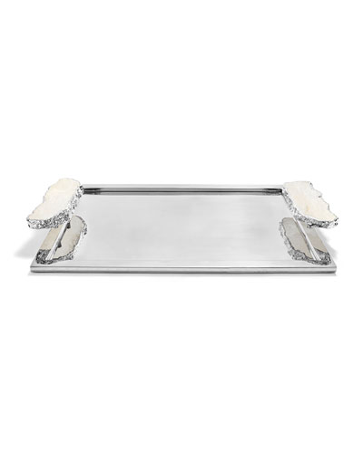 monochrome tray Coastal tray mini tray small tray Scottish gift