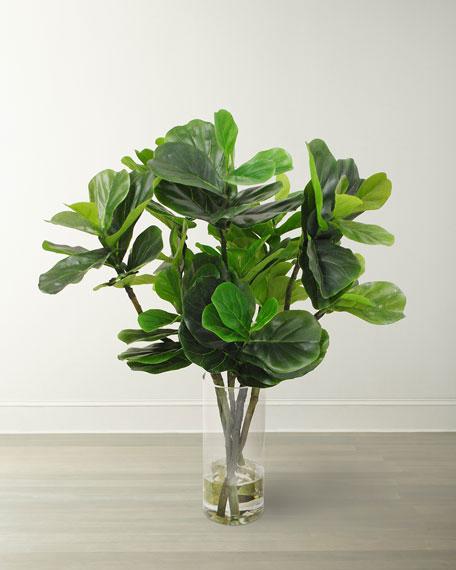Winward Fiddle Leaf in Round Vase