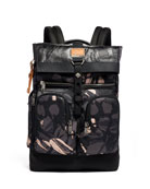 TUMI Alpha 3 Bravo London Roll Top Backpack
