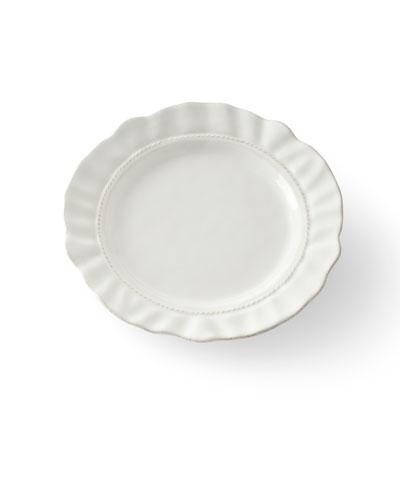 Madeleine Whitewash Dessert/Salad Plate