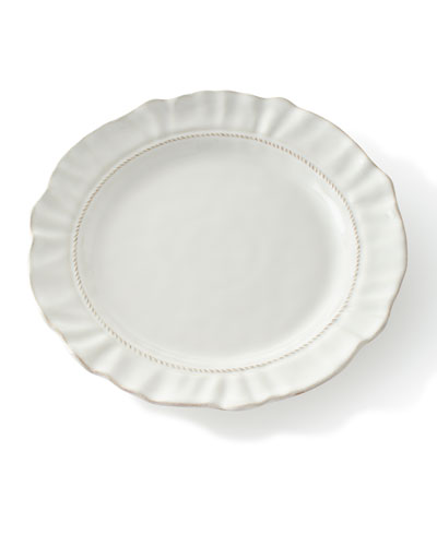 Madeleine Whitewash Dinner Plate