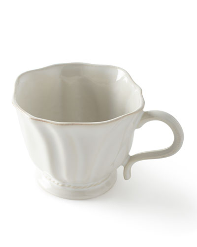 Madeleine Whitewash Coffee/Tea Cup
