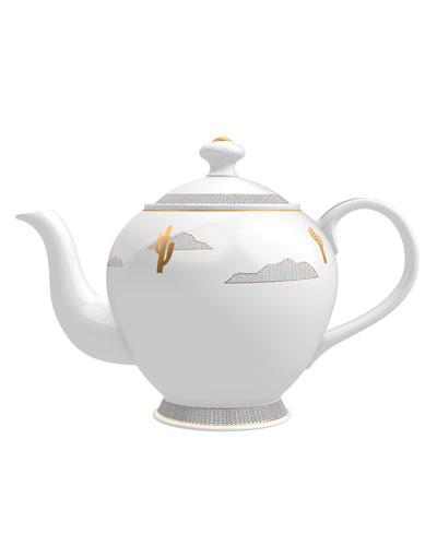 Tuberose from Marfa Candle in Tea Pot