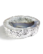 ANNA New York Cascita Bowl, Natural Silver