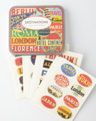 Cavallini & Co. Destination Travel Stickers