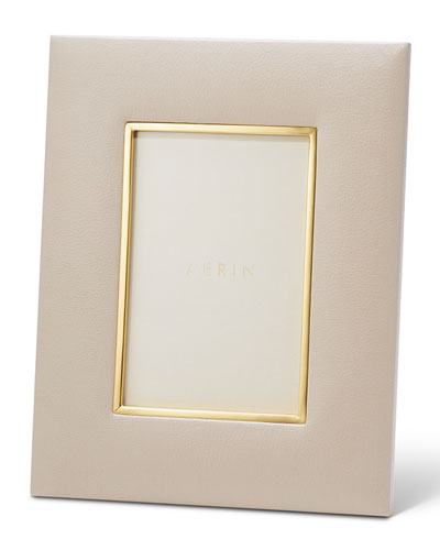 Valentina Leather Picture Frame, 4
