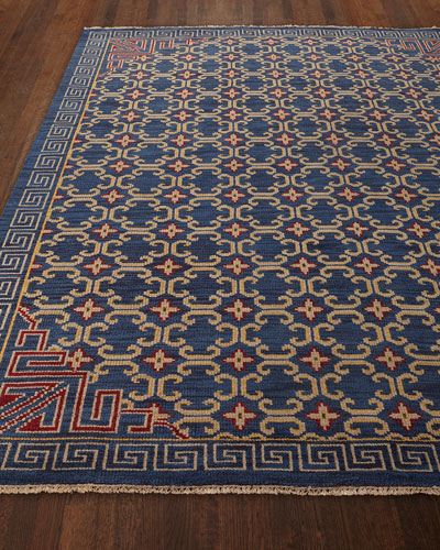 Clarice Hand-Knotted Runner, 2'6