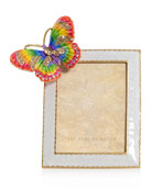 Jay Strongwater Rainbow Butterfly Frame, 3