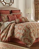Rose Tree Harrogate Queen Comforter Set and Matching