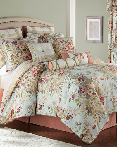 Lorraine 4-Piece King Comforter Set