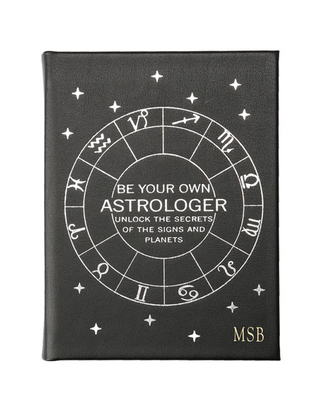 """Graphic Image """"Be Your Own Astrologer"""" Book, Personalized"""