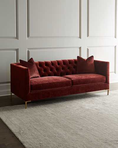 Sienna Tufted Back Sofa, 84