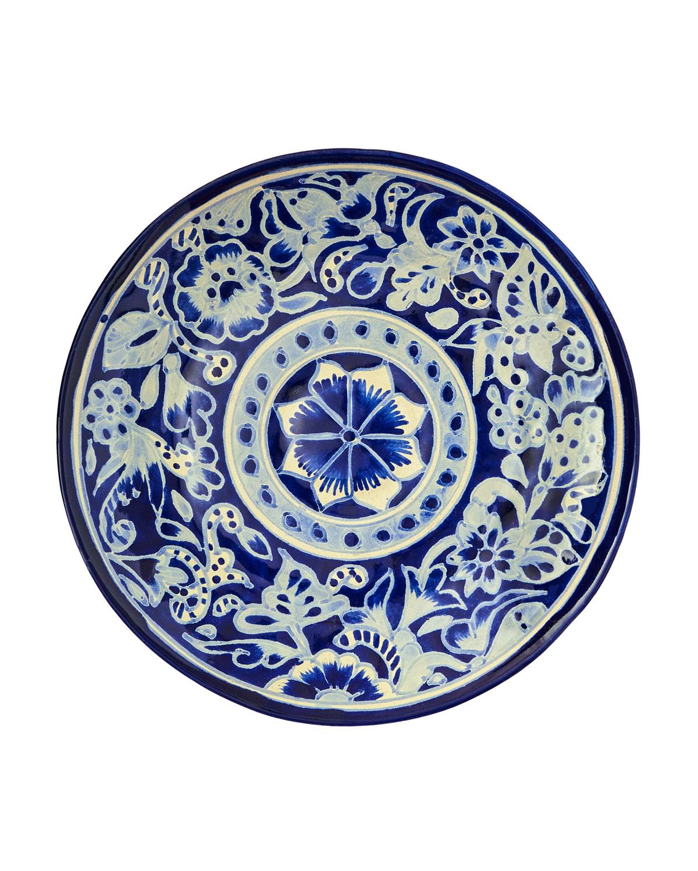 Jan Barboglio Dinnerwares EL VIEJO PLATE