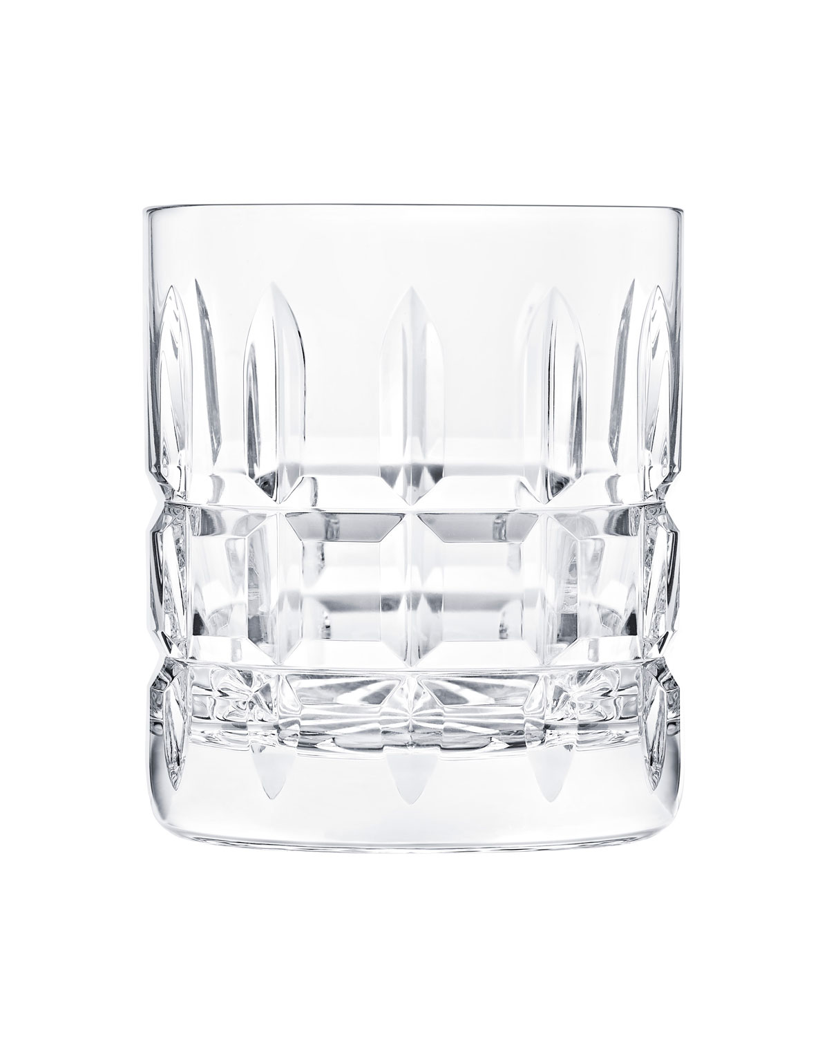 Saint Louis Crystal Clothing MANHATTAN DOUBLE ROCK GLASS