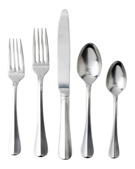Juliska Bistro Bright Satin 5-Piece Flatware Place Setting