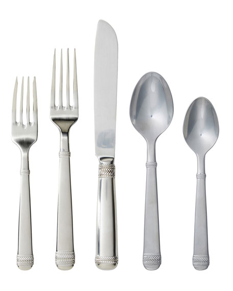 Juliska Le Panier Bright Satin 5-Piece Flatware Place Setting
