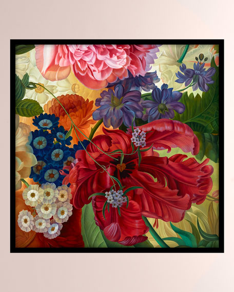 """""""Floral Bounty"""" Giclee Canvas Art"""
