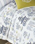 Legacy Shang Pagoda King Duvet Set