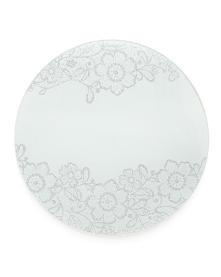 Nomi K Flower Glass Elegant Placemat