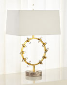 John-Richard Collection Crystal Wand Table Lamp