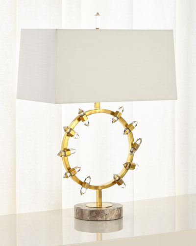Crystal Wand Table Lamp