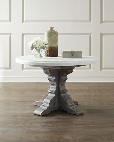 Turow Marble Top Dining Table