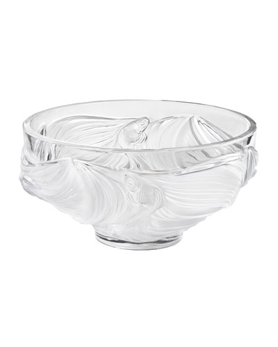 Poissons Bowl, Clear