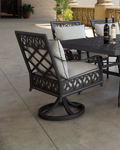 Biltmore Estate Swivel Dining Chair
