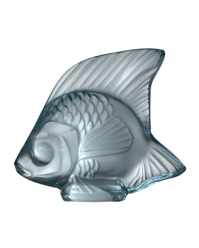 Fish Sculpture, Persepolis Blue