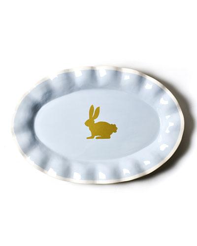 Rabbit Oval Platter