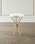 Hooker Furniture Lissardi Capiz Shell Accent Table