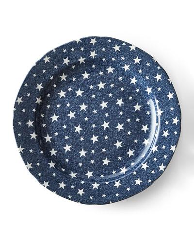 Midnight Sky Dinner Plate, Blue