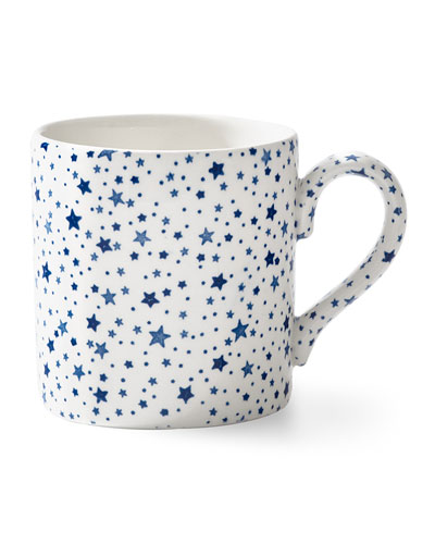 Midnight Sky Mug, White
