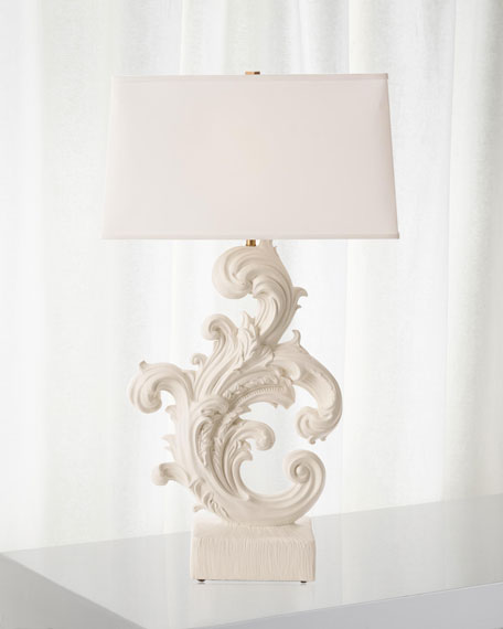 Global Views Dorothy Acanthus Table Lamp