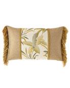 Dian Austin Couture Home Botanical Piece Oblong Pillow