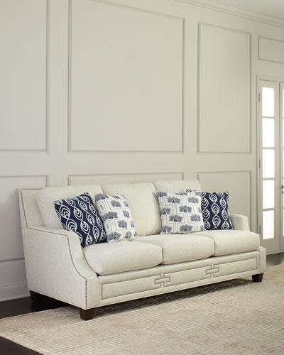 Peachy Massoud 90 Inch Sofa Neiman Marcus Creativecarmelina Interior Chair Design Creativecarmelinacom