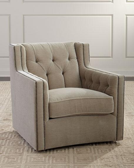 Bernhardt Candace Swivel Chair
