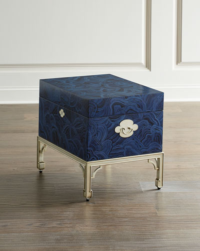 Azurite Accent End Table