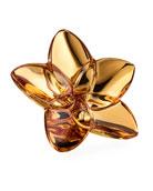 Baccarat Bloom 20K Gold Crystal Decor