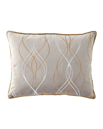 Rialto Velvet Embroidered King Sham