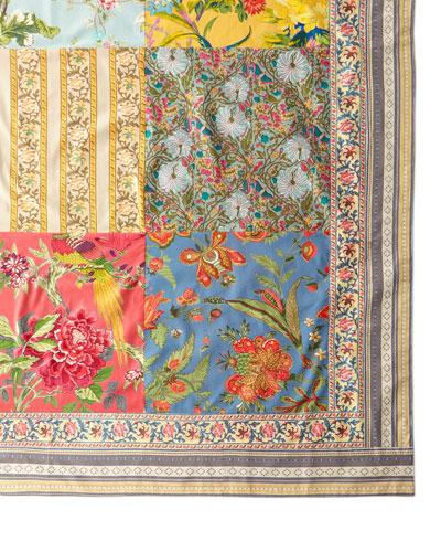 Estelle Patchwork Tablecloth, 60