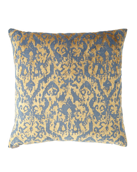 "D.V. Kap Home Pantheon Midnight Pillow - 24""Sq."