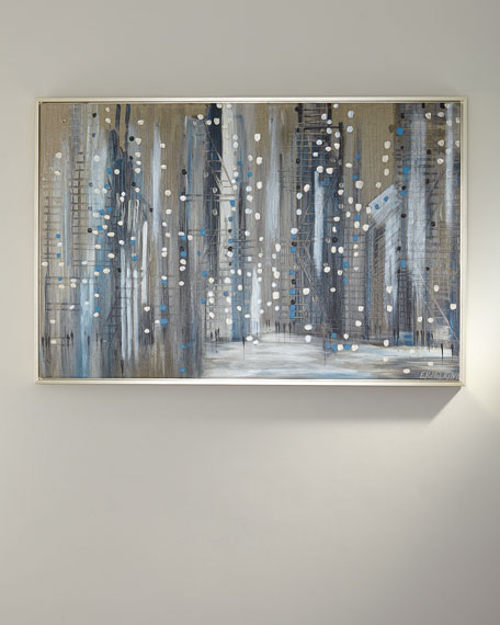 "RFA Fine Art ""Silver Night"" Giclee Canvas Art by Ekaterina Ermilkina"