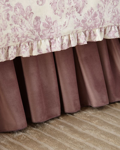 Iris Adjustable Velvet Dust Skirt