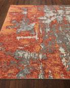 Garrick Hand-Knotted Rug, 6' x 9'