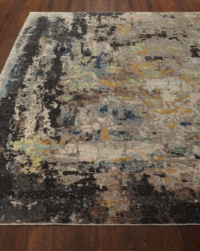 Cortlandt Hand-Knotted Rug, 6' x 9'