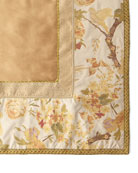 Sweet Dreams Fanciful Pheasant Square Tablecloth